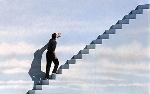 Monterez-vous l'escalier qui mène à la connaissance ?