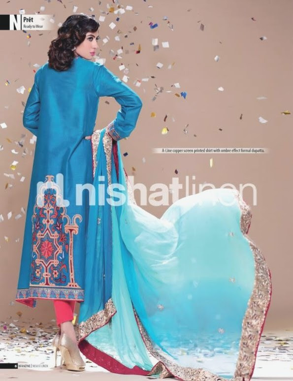 Nishat-Linen-Eid-Dress-Collection-2013-Pret-Ready-to-Wear -Lawn-Ruffle-Chiffon-for-Girls-Womens-1