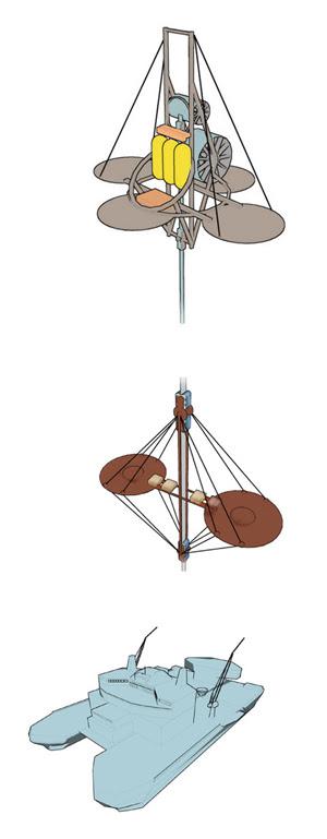 The Liftport - Platform, Lifter, and Counterweight