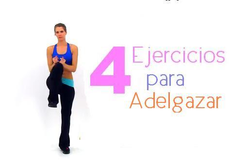 ejercicios para adelgazar rapidisimo