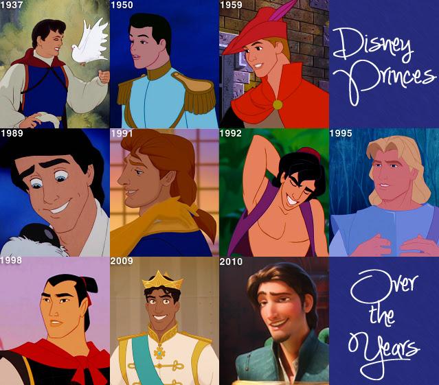 Disney Princes Over the Years - Disney Princess Photo ...