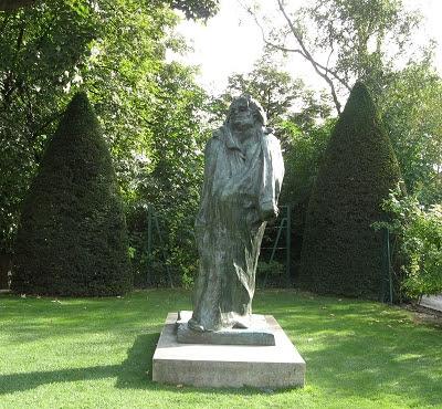 Paris Skulpturengarten Rodin Balzac Foto Brandt