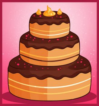How To Draw A Cute Cake Draw Cute Things Youtube