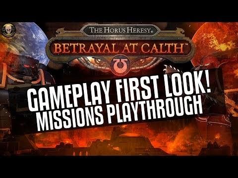Betrayal At Calth - Gameplay First Look