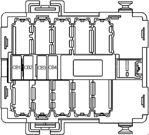 07 13 Chevy Silverado Gmc Sierra Fuse Box Diagram