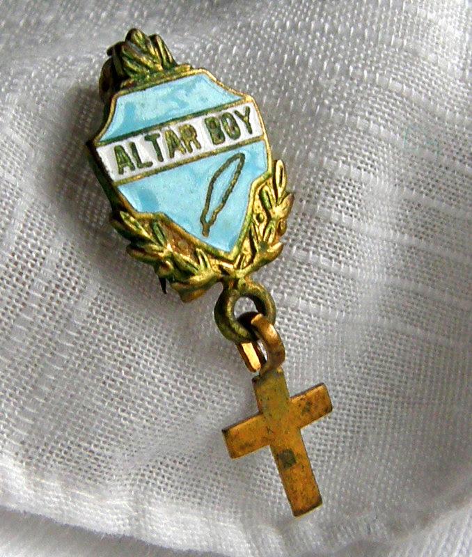 my altar boy pin