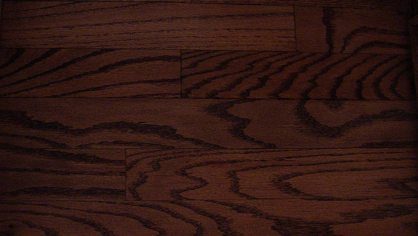 Dark Walnut Stain On Oak Floors