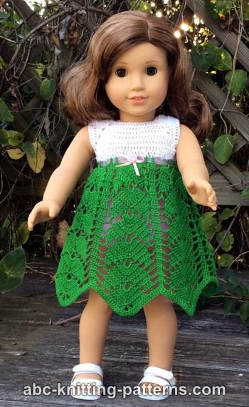 American Girl Doll Tropical Vacation Dress