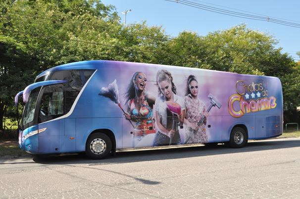 Ônibus Cheias de Charme (Foto: Divulgação TV Globo)