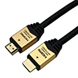 HORIC ハイスピードHDMIケーブル 1.5m イーサネット オーディオリターン 3D フルHD 対応 金メッキ端子 ゴールド HDM15-891GD
