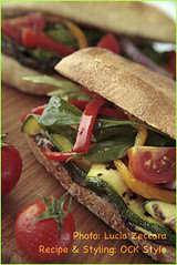 Panini - Ciabatta with Grilled Vegs and ... [01]