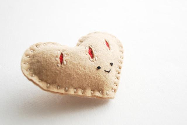 Heart Pastry Plush