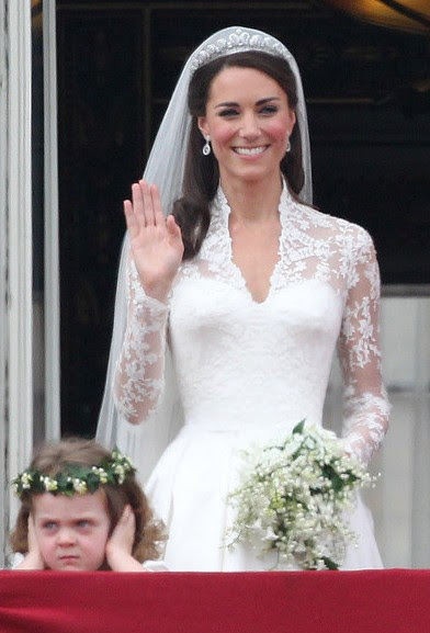 As Far Lip Makeup Goes Kate Opted For A Neutral Flesh Middleton Wedding Hairstyle