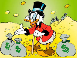 "Scrooge: ""Hey, Indians! You ain't never gettin' it back!"