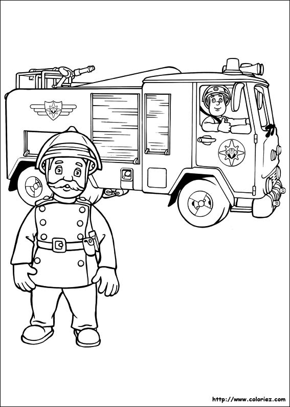 Index Of Imagescoloriagesam Le Pompier
