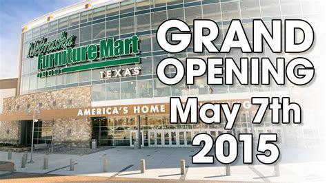 grand opening  nebraska furniture mart  texas