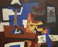 Imagen Los tres músicos.Biografia de Picasso. Biography