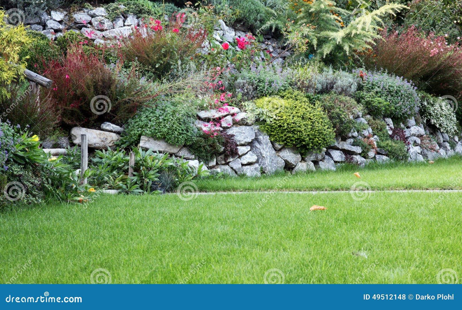 jardin de jardin de rocaille 49512148