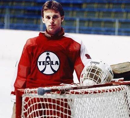 Third String Goalie 1991 92 Chicago Blackhawks Tbtc Dominik Hasek