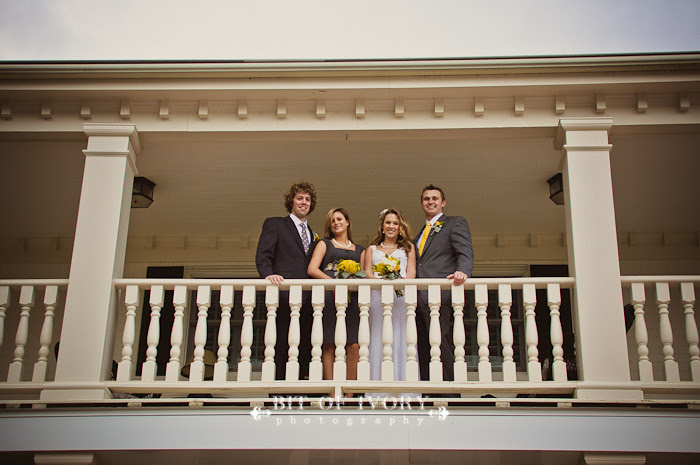yellow and gray bridal party virginia beach wedding photographer