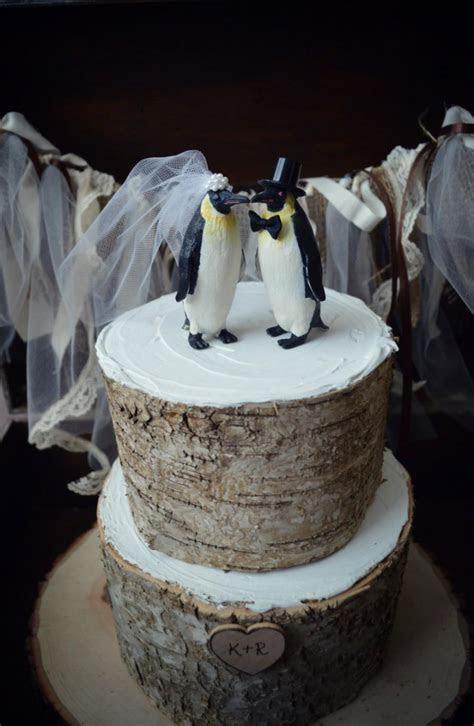Decor   Penguin wedding cake #2491846   Weddbook