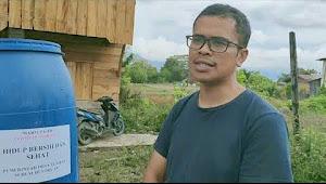 Video: Kreatifitas Sang Kades Ciptakan Alat Cegah Covid-19 di Samosir