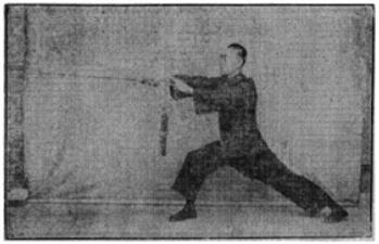 《昆吾劍譜》 李凌霄 (1935) - posture 61
