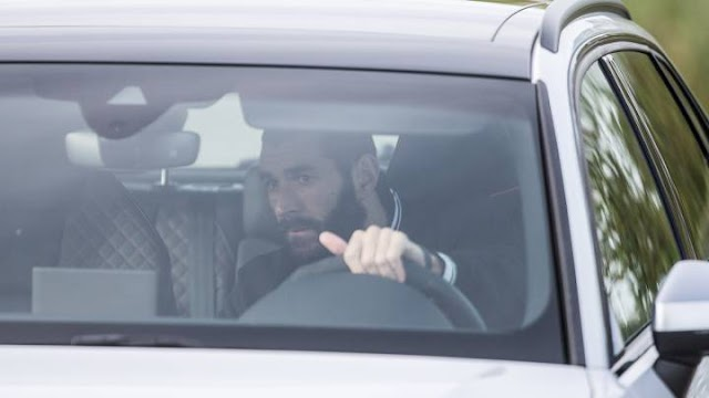 Ramos & Benzema Lead Madrid Players Arrived In Valdebebas To Undergo Tests