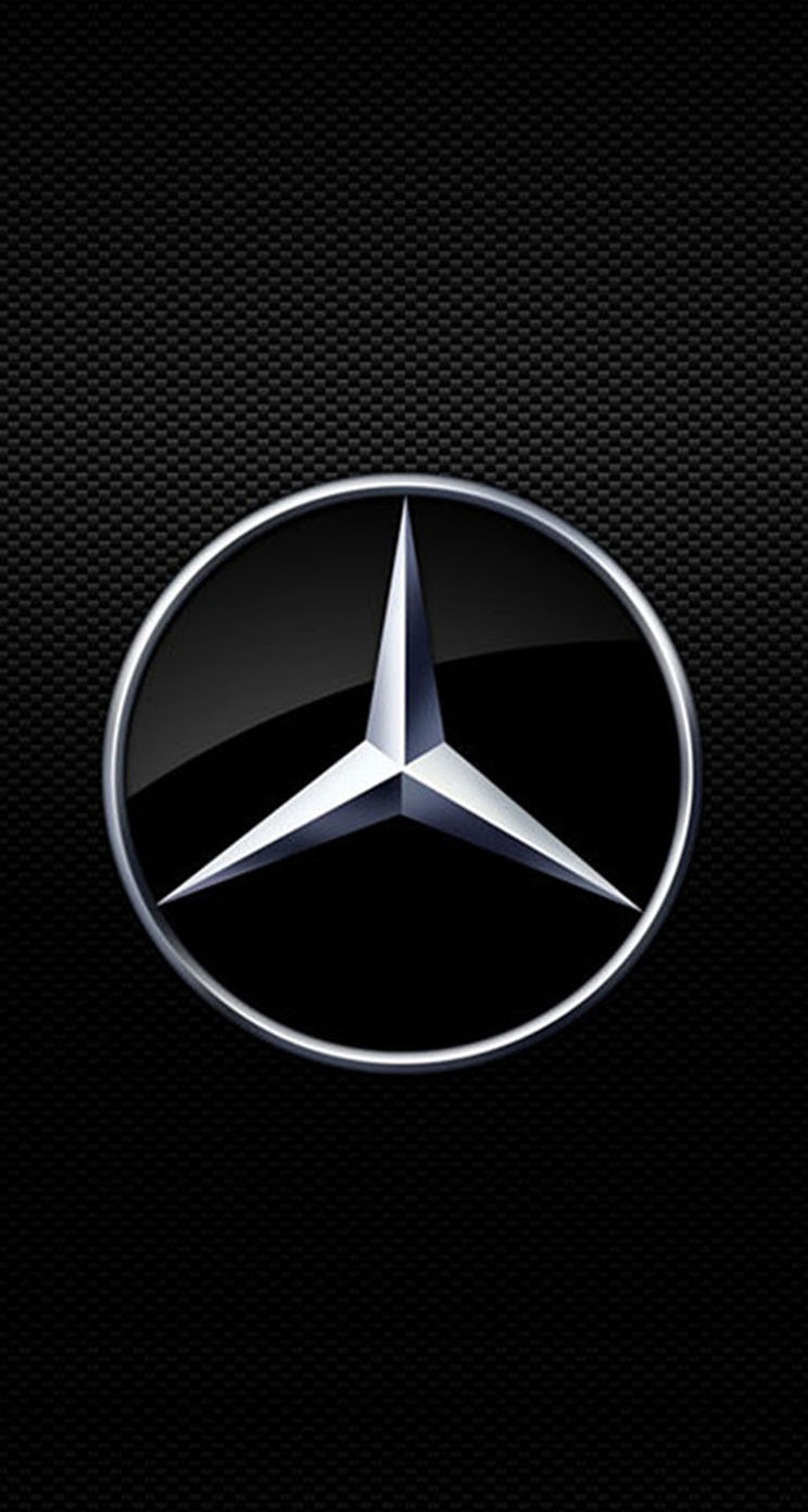 Mercedes Benz Logo Iphone Wallpaper