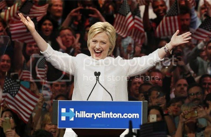 Hillary Clinton Clinches nomination