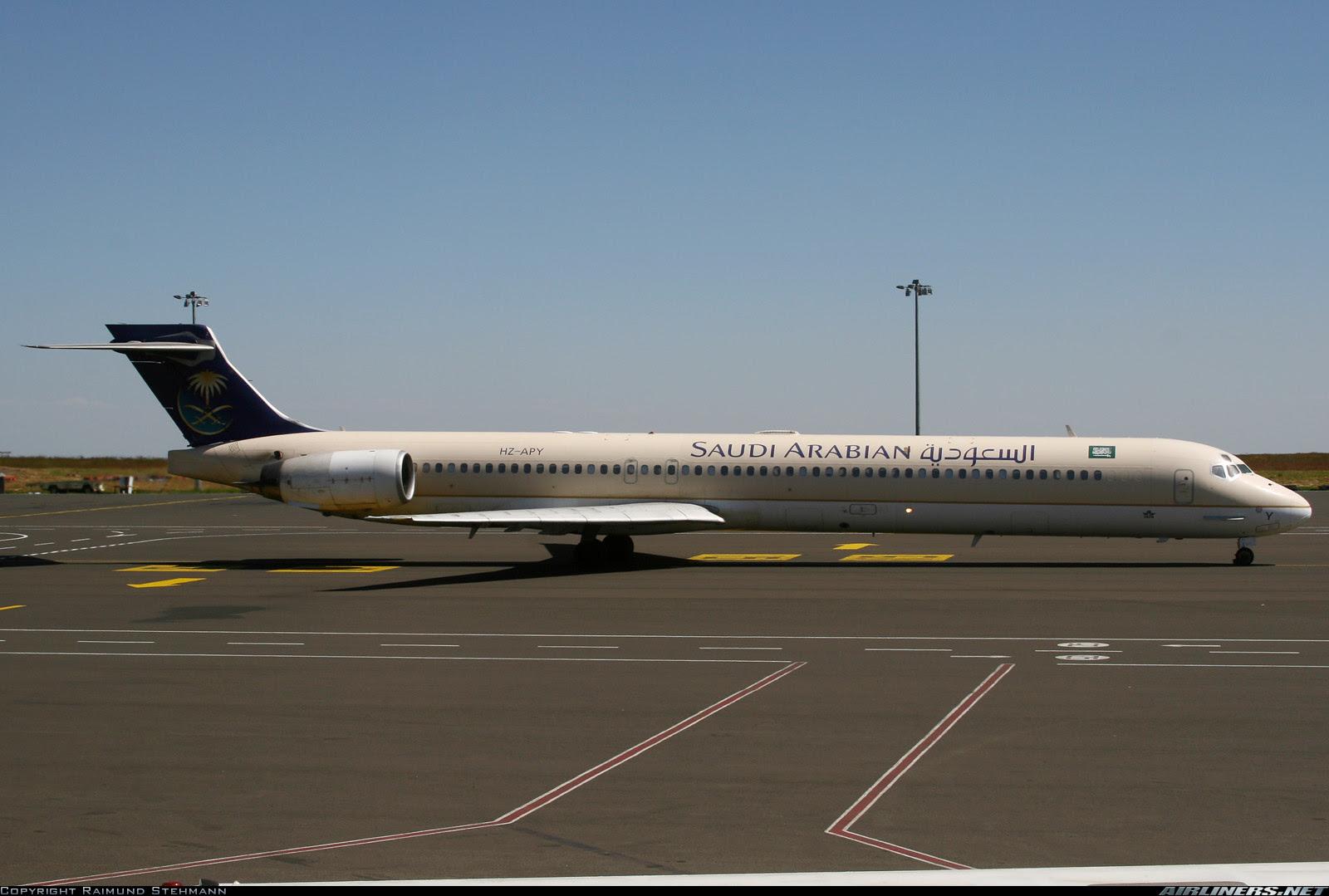 Saudia Boeing 717 Bole Airport, Addis Ababa, Ethiopia