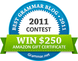 Best grammar blog 2011