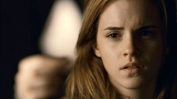 Hermione Granger in HARRY POTTER AND THE DEATHLY HALLOWS, Part 2.