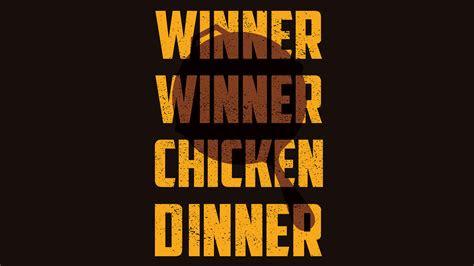 winner winner chicken dinner hd games  wallpapers