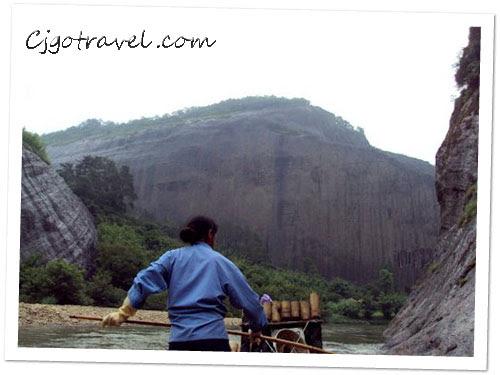 Wuyishan Bamboo raft