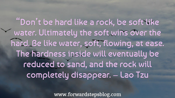 Be Soft Like Water Inspiring Article And Image Of Life Power Tip Quote
