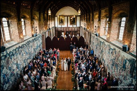 A Spring Wedding At Hatfield House