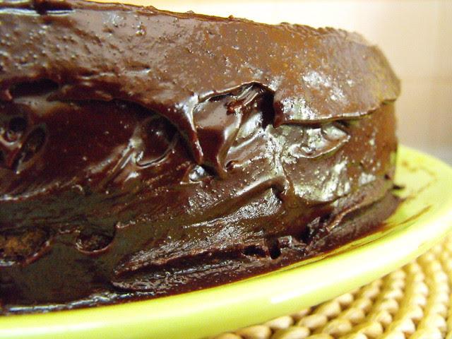 Bolo de chocolate da Yo