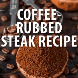 Today Show: David Guas Coffee-Rubbed Rib-Eye Recipe + Garlic Butter