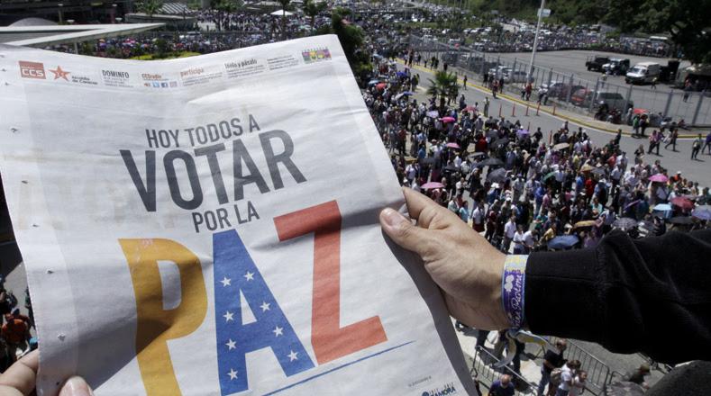 Los venezolanos y las venezolanas asistieron este domingo 30 de julio a las urnas en el marco de las elecciones de donde surgirán más de 500 representantes para la Asamblea Nacional Constituyente (ANC) convocada por el presidente Nicolás Maduro el primero de mayo.