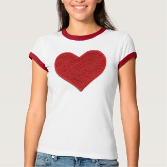 LOVE IS EVERYTHING/ HEARTS ON BOTH SIDES shirt