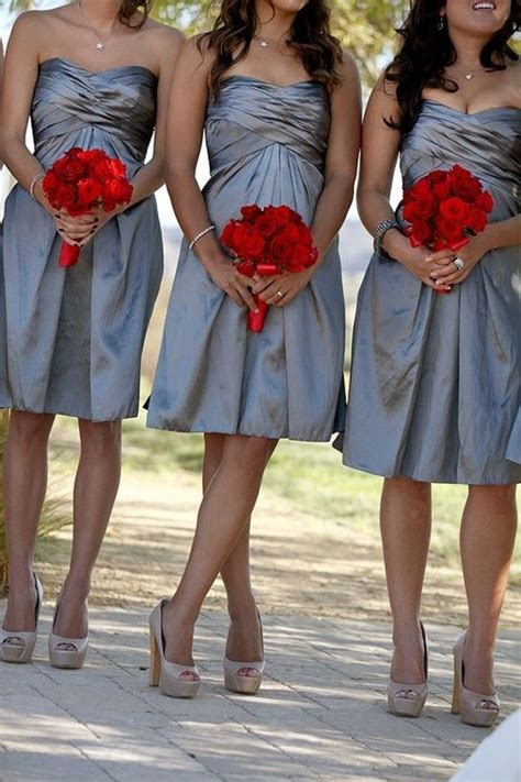 1000  images about Grey & Red Wedding Colors on Pinterest