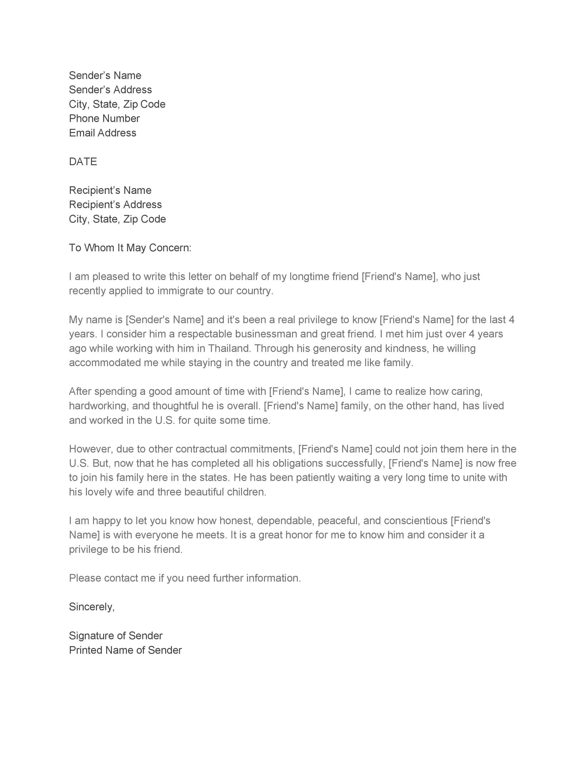 Immigration Reference Letter For A Family Member from lh5.googleusercontent.com