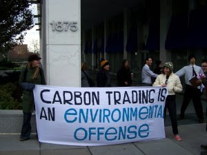 Carbon trading =  Environmental Offence