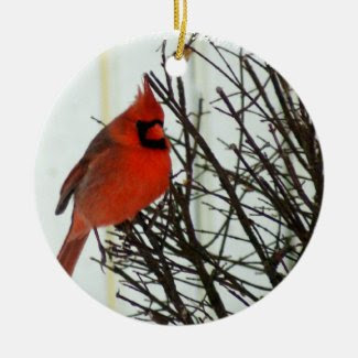 Redbird Ornament