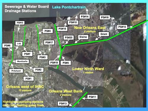 NOLA Pumping Stations