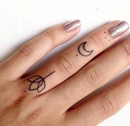 42 Ideas Originales Para Tatuajes En Los Dedos Y Sus Significados