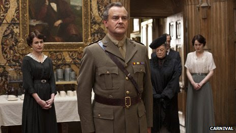 Hugh Bonneville as Robert Crawley, Earl of Grantham
