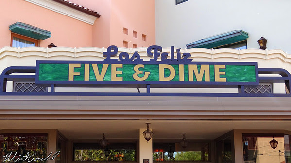Disneyland Resort, Disney California Adventure, Buena Vista Street, Los Feliz Five and Dime