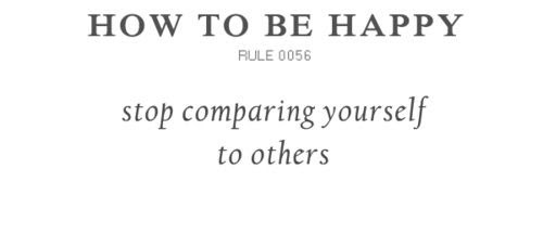 Stop Comparing Yourself To Others Picture Quotes